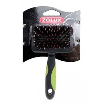 Zolux / Золюкс Щетка-пуходерка пластиковая малая, S