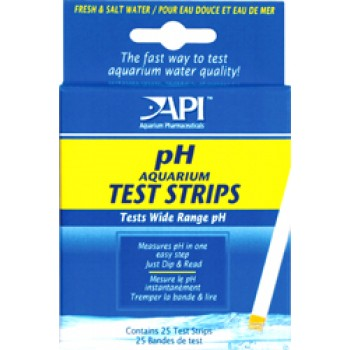 API / АПИ pH аквариум Тест Стрипс - Полоски для определения уровня pH в аквариумной воде рH Aquarium Test Strips