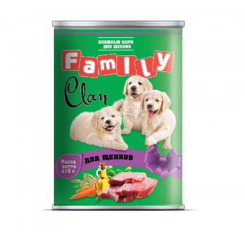 Clan / Клан Family консервы д/щенков , 0,415 кг