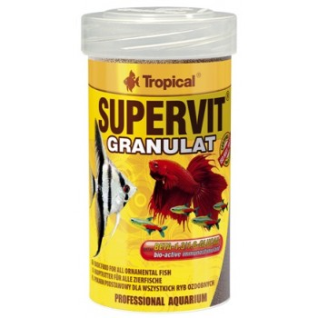 Tropical / Тропикал 604137/85898 корм для декоративных рыб (гранулы) Supervit Granulat 100мл/55гр