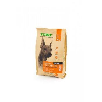 TitBit / ТитБит Корм сухой гипоаллергенный для собак всех пород Индейка с картофелем 1 кг