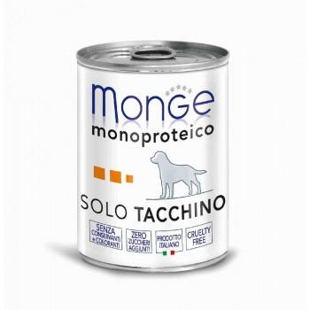 Monge / Монж Dog Monoproteico Solo консервы для собак паштет из индейки 400г