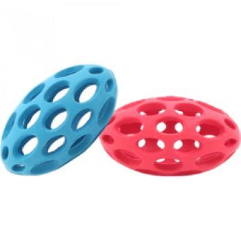 JW Игрушка д/собак - Мяч для регби сетчатый, каучук, маленькая Sphericon Dog Toy. small (43118)