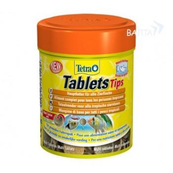 TetraTabletsTips / Тетра корм в таблетках для приклеивания к стеклу 75 таб.