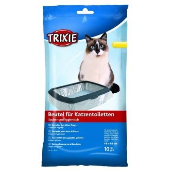 Trixie Пакеты уборочные для кошачьих туалетов L 46 x 59 см 10 шт 1х6 4044