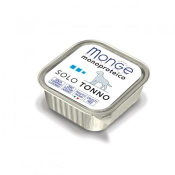 Monge / Монж Dog Monoproteico Solo консервы для собак паштет из тунца 150г