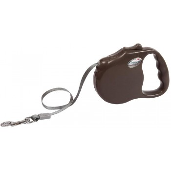 "Freego / Фрего Рулетка ""Элеганс"" лента, 3м х 23 кг, разм. M,коричневая"