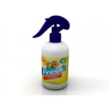 Mr.Fresh / М.Фреш 2в1 Ликвидатор запаха д/клеток д/птиц и грызунов 200мл (спрей)
