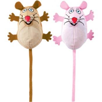 Fat Cat Игрушка д/кошек- Мышка, мягкая,, Eeeks Cat Toy (650124)