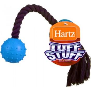 Hartz / Хартц Игрушка д/собак - Перетяжка с двумя мячами, мягкая, Tuff Stuff Bolo dog toy