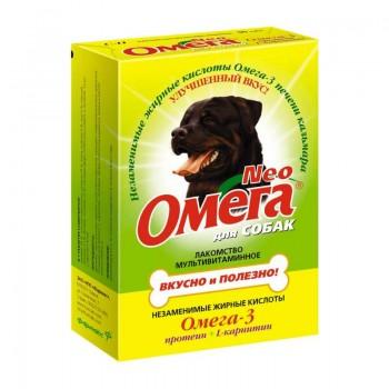 ОМЕГА NEO лакомство д/собак с Протеином и L-карнитином 90 таб.