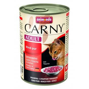 ANIMONDA CARNY Adult Консервы с отборной говядиной д/кошек 400г