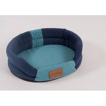 Katsu / Катсу ANIMAL 65х54 см лежак для животных сине-голубой