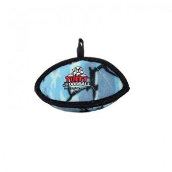 Tuffy / Таффи Супер прочная игрушка для собак Торпеда малая, голубой камуфляж, прочность 7/10