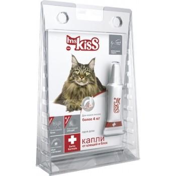 Ms.Kiss / М. Кисс Капли инсектоакарицидные д/кошек весом от 4кг 0,8мл