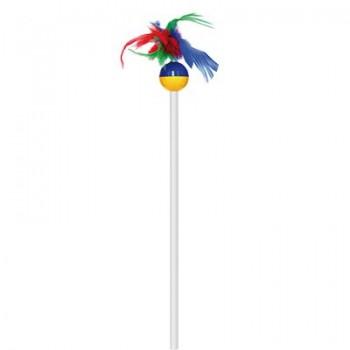 Зооник Дразнилка 50 см с перьями