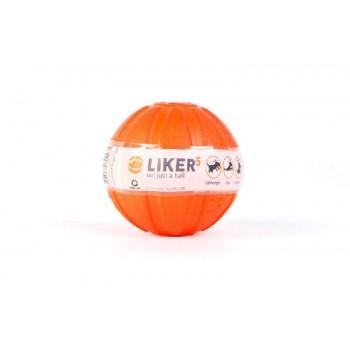 LIKER / ЛАЙКЕР Мячик Лайкер, диаметр 5см, оранжевый/27 6298