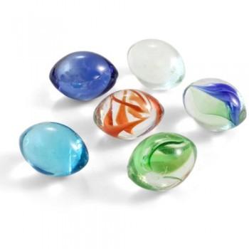 Jebo / Джебо 60213 Грунт декоративный разноцветный  10-15мм, 500г в сетке