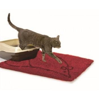 Dog Gone Smart / Дог Гон Смарт коврик д/кошек супервпитывающий S, 40,5*58,5см, красный