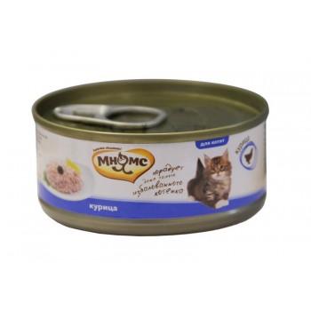 Мнямс консервы для котят Курица в нежном желе 70 г
