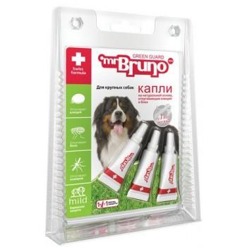 Mr.Bruno / М.Бруно Капли репеллентные д/крупных собак 4мл