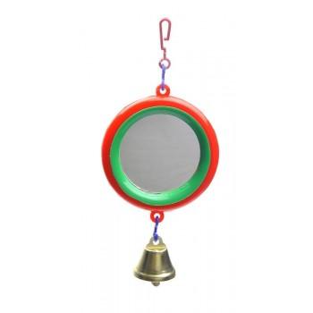 Yami-Yami / Ями-Ями Зеркало с колкольчиком для попугая (5011)