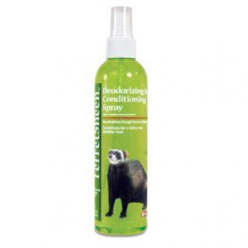8in1 средство для хорьков FerretSheen Deodorizing&Conditioning спрей дезодорирующий с ароматом огурца и дыни 236 мл