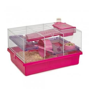 Rosewood Клетка для мелких грызунов PICO, розовая