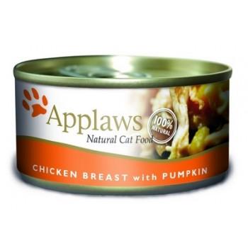 Applaws / Эпплаус Консервы для кошек с Куриной грудкой и тыквой 0,07 кг
