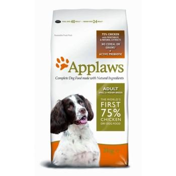 """Applaws / Эпплаус для Собак малых и средних пород """"Курица/Овощи: 75/25%"""" 2 кг"""