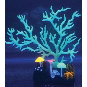Jelly-Fish / Джелли-Фиш Коралл светящийся силиконовый, 9*7*16,5 см