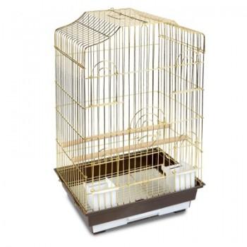 Triol / Триол Клетка 6112G для птиц, золото, 465*360*710мм