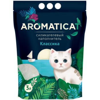 """AromatiCat / АроматиКэт Силикагелевый наполнитель """"AromatiCat"""" 3л. Классика"""