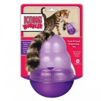 Kong / Конг игрушка для кошек Воблер для лакомств
