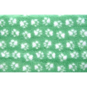 ProFleece коврик меховой 1х1,6м мята/белый