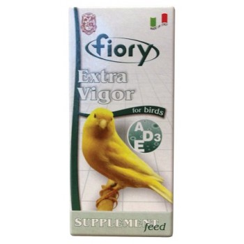 Fiory / Фиори кормовая добавка для птиц с витаминами Extra Vigor 36 мл