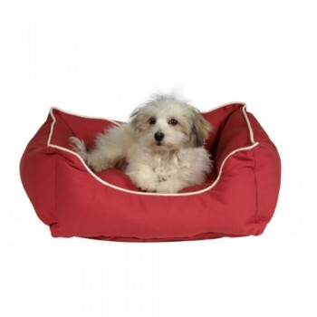 Dog Gone Smart / Дог Гон Смарт Нано лежанка Lounger Bed L, 80*70см, красный