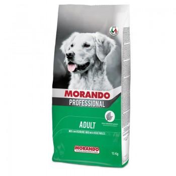 Morando / Морандо Professional Cane сухой корм для взрослых собак с овощами, 15 кг
