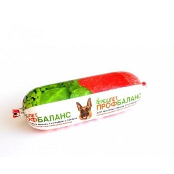 Фрешпет Профбаланс кон.д/собак Мясной ролл с говядиной, сердцем и гречкой 800г