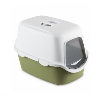 Stefanplast / Стефанпласт Туалет закрытый Cathy, зеленый с угольным фильтром, 56*40*40см (97586)