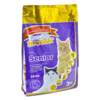 Frank's ProGold / Франкс ПроГолд для пожилых кошек (Senior 28/20) 3 кг