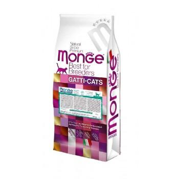 Monge / Монж Cat Hairball корм для кошек для выведения комков шерсти 10 кг