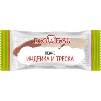 Dog Fest / Дог Фест Пенне ИНДЕЙКА И ТРЕСКА 6 гр х 20 шт