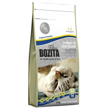 Bozita / Бозита Funktion Indoor&Sterilised сух.корм д/Домашних и стерилизованных кошек 2кг