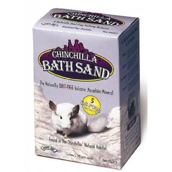 Super Pet Песок д/купания шиншилл, 5 уп. х140 гр 60413