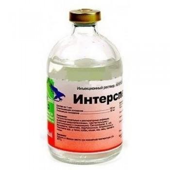 Интерспектин-L антибактериальный препарат широкого спектра действия 100мл