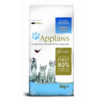 "Applaws / Эпплаус для котят ""Курица/Овощи: 80/20%"" 2 кг"