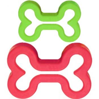 JW Игрушка д/собак - Косточка с ароматом мяты, каучук, маленькая Good Breath Rubber Dog Bone Sm (43040)