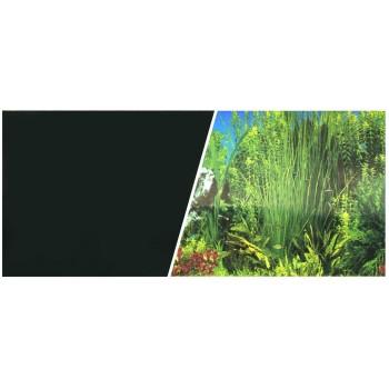 Hagen / Хаген фон черный/растительный 45см 7,5 м