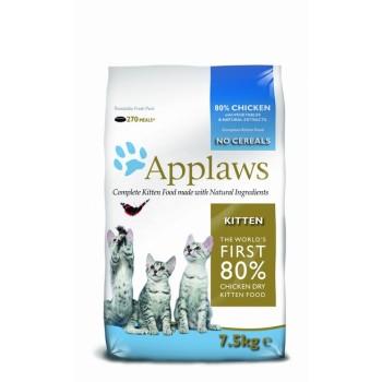 "Applaws / Эпплаус для котят ""Курица/Овощи: 80/20%"" 7,5 кг"